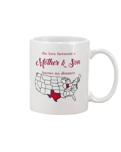 INDIANA TEXAS THE LOVE MOTHER AND SON