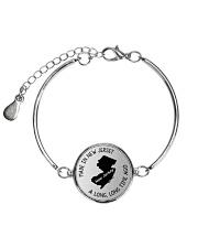 MADE IN NEW JERSEY A LONG LONG TIME AGO Metallic Circle Bracelet thumbnail