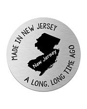 MADE IN NEW JERSEY A LONG LONG TIME AGO Circle Coaster thumbnail