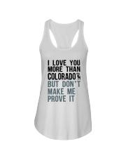 I LOVE YOU MORE THAN COLORADO Ladies Flowy Tank thumbnail