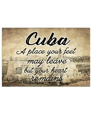 CUBA A PLACE YOUR HEART REMAINS 24x16 Poster front
