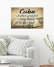 CUBA A PLACE YOUR HEART REMAINS 24x16 Poster poster-landscape-24x16-lifestyle-01