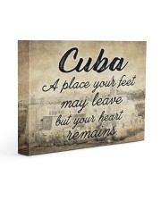 CUBA A PLACE YOUR HEART REMAINS 14x11 Gallery Wrapped Canvas Prints thumbnail