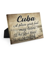 CUBA A PLACE YOUR HEART REMAINS 10x8 Easel-Back Gallery Wrapped Canvas thumbnail
