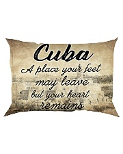 CUBA A PLACE YOUR HEART REMAINS Rectangular Pillowcase thumbnail