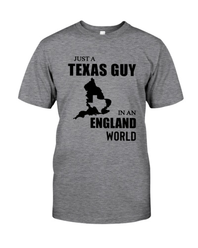 JUST A TEXAS GUY IN AN ENGLAND WORLD