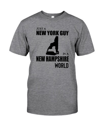 JUST A NEW YORK GUY IN A NEW HAMPSHIRE WORLD