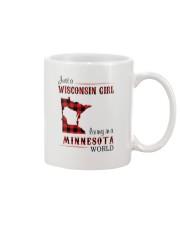 WISCONSIN GIRL LIVING IN MINNESOTA WORLD Mug thumbnail