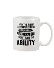 BEING A PUERTO RICAN GIRL I DIDN'T HAVE ABILITY Mug thumbnail