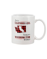 CALIFORNIA GIRL LIVING IN WASHINGTON WORLD Mug thumbnail