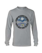LIVING IN SOUTH CAROLINA WITH NEW YORK ROOTS Long Sleeve Tee thumbnail
