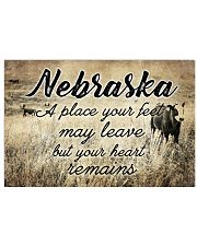 NEBRASKA A PLACE YOUR HEART REMAINS 24x16 Poster front