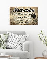 NEBRASKA A PLACE YOUR HEART REMAINS 24x16 Poster poster-landscape-24x16-lifestyle-01