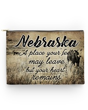 NEBRASKA A PLACE YOUR HEART REMAINS Accessory Pouch - Large thumbnail