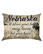 NEBRASKA A PLACE YOUR HEART REMAINS Rectangular Pillowcase thumbnail