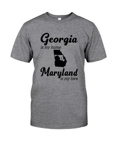 GEORGIA IS MY HOME MARYLAND IS MY LOVE