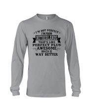 I'M NOT PERFECT I'M FROM NETHERLANDS Long Sleeve Tee thumbnail