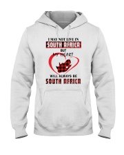 MY HEART WILL ALWAYS BE SOUTH AFRICA Hooded Sweatshirt thumbnail