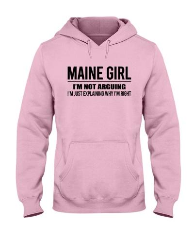 MAINE GIRL I'M NOT ARGUING