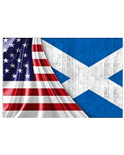 SCOTLAND AND UNITED STATES FLAG 36x24 Poster thumbnail