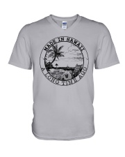 MADE IN HAWAII A LONG TIME AGO V-Neck T-Shirt thumbnail