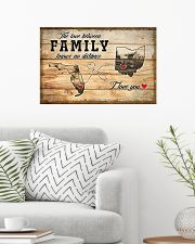 OHIO FLORIDA LOVE BETWEEN FAMILY 24x16 Poster poster-landscape-24x16-lifestyle-01