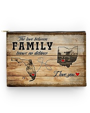 OHIO FLORIDA LOVE BETWEEN FAMILY Accessory Pouch - Large thumbnail