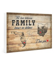 OHIO FLORIDA LOVE BETWEEN FAMILY 24x16 Gallery Wrapped Canvas Prints thumbnail