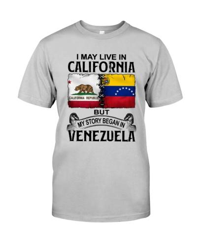 LIVE IN CALIFORNIA BEGAN IN VENEZUELA