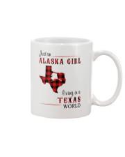 ALASKA GIRL LIVING IN TEXAS WORLD Mug thumbnail
