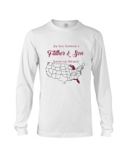MICHIGAN FLORIDA THE LOVE FATHER AND SON Long Sleeve Tee thumbnail