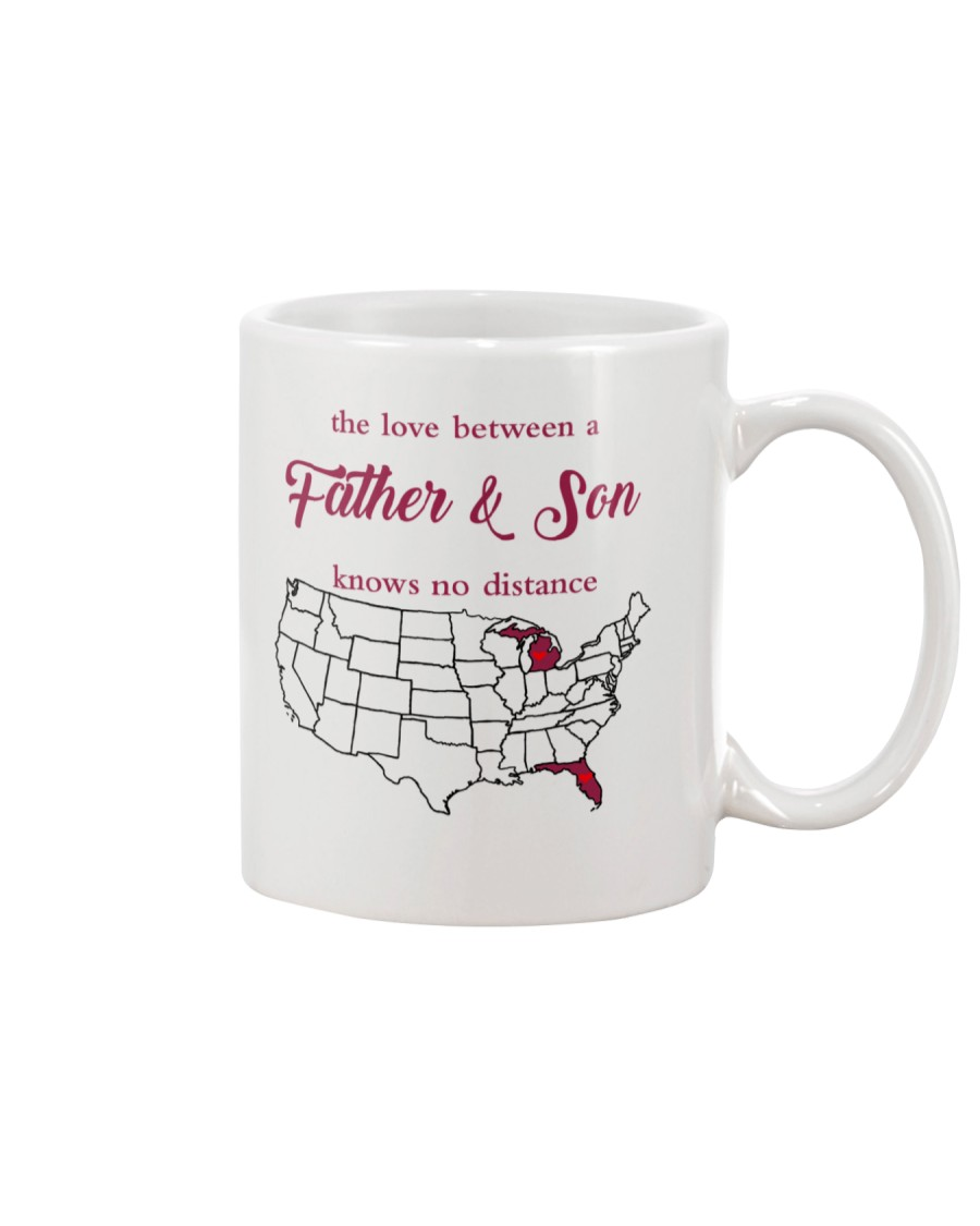 MICHIGAN FLORIDA THE LOVE FATHER AND SON Mug