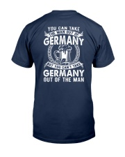 GERMANY YOU CAN'T TAKE OUT OF THE MAN Classic T-Shirt back
