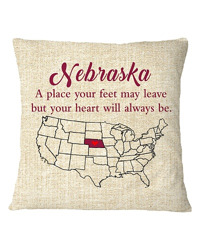NEBRASKA A PLACE YOUR FEET MAY LEAVE