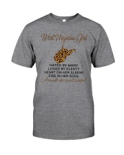 WEST VIRGINIA GIRL LOVE BY PLENTY Classic T-Shirt thumbnail