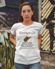 WEST VIRGINIA GIRL LOVE BY PLENTY Ladies T-Shirt apparel-ladies-t-shirt-lifestyle-03