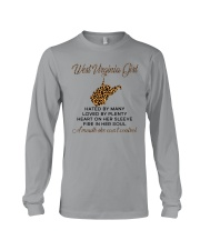 WEST VIRGINIA GIRL LOVE BY PLENTY Long Sleeve Tee thumbnail