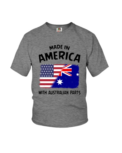 AMERICA WITH AUSTRALIAN PARTS