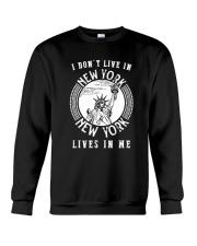 NEW YORK LIVE IN ME Crewneck Sweatshirt thumbnail