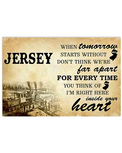 JERSEY I'M RIGHT HERE INSIDE YOUR HEART