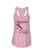 CANADIAN GIRL LIVING IN ITALIAN WORLD Ladies Flowy Tank thumbnail