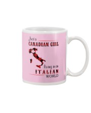 CANADIAN GIRL LIVING IN ITALIAN WORLD Mug thumbnail