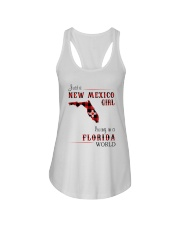 NEW MEXICO GIRL LIVING IN FLORIDA WORLD Ladies Flowy Tank thumbnail