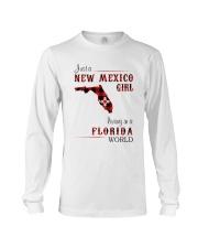 NEW MEXICO GIRL LIVING IN FLORIDA WORLD Long Sleeve Tee thumbnail