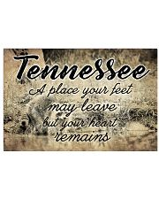 TENNESSEE A PLACE YOUR HEART REMAINS Horizontal Poster tile
