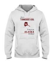 TENNESSEE GIRL LIVING IN ALASKA WORLD Hooded Sweatshirt thumbnail