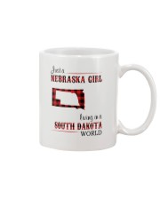NEBRASKA GIRL LIVING IN SOUTH DAKOTA WORLD Mug thumbnail
