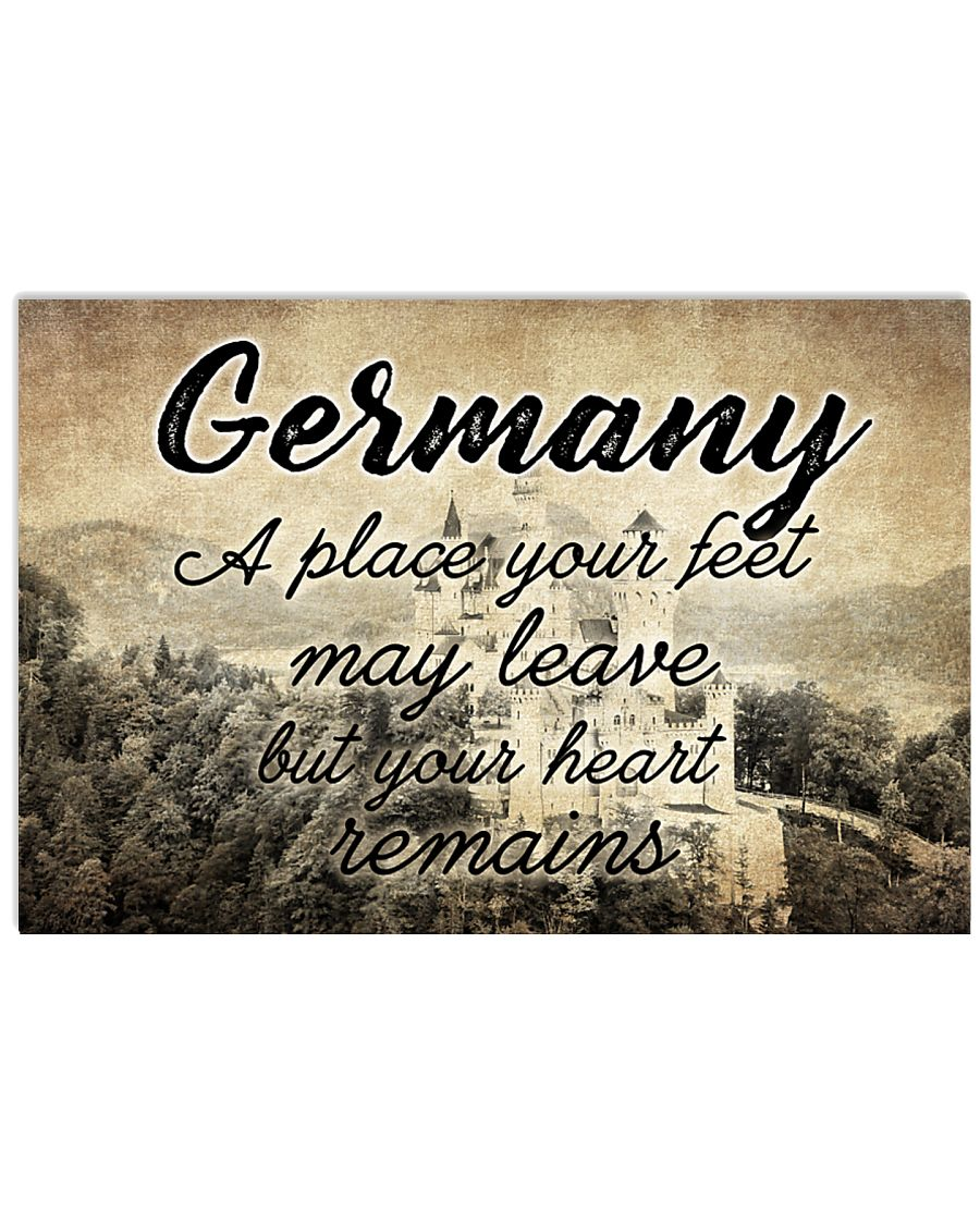 GERMANY A PLACE YOUR HEART REMAINS 24x16 Poster