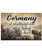 GERMANY A PLACE YOUR HEART REMAINS 24x16 Poster front