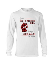 SOUTH AFRICAN GIRL LIVING IN GERMAN WORLD Long Sleeve Tee thumbnail